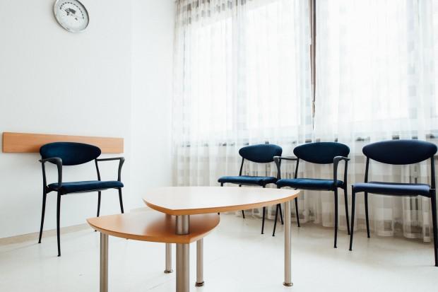 Wartezimmer der Praxis Gareis